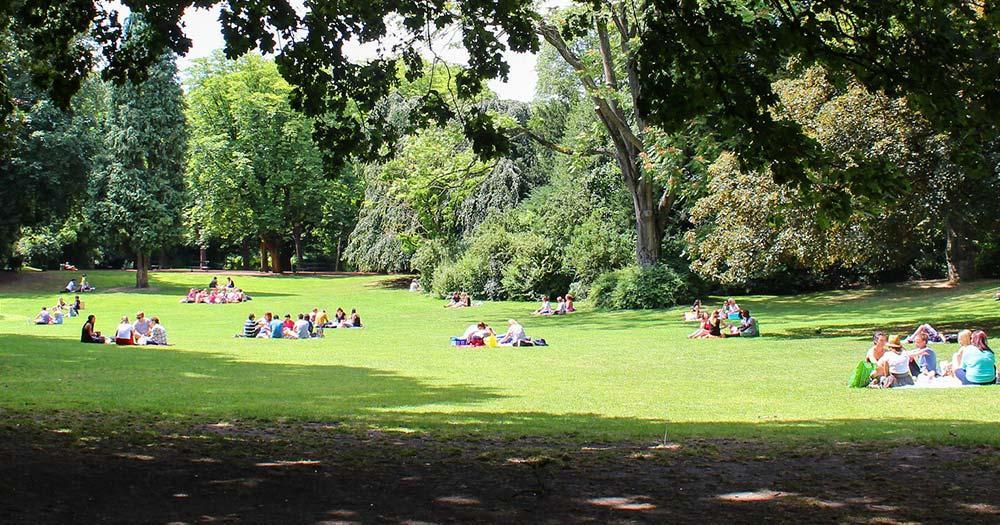 Lille - Parc Vauban in Lille