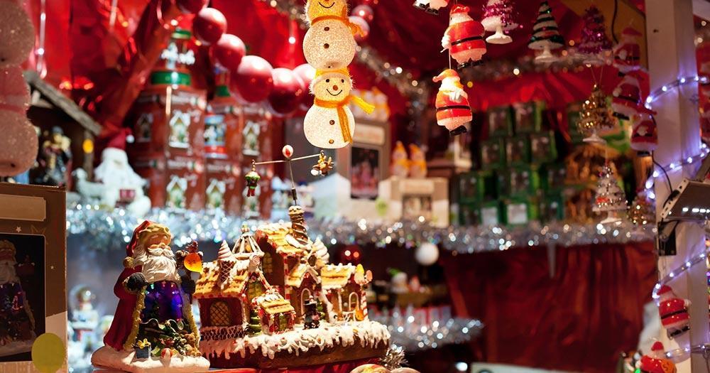 Weihnachtsmarkt Lille - Weihnachtsdekoration