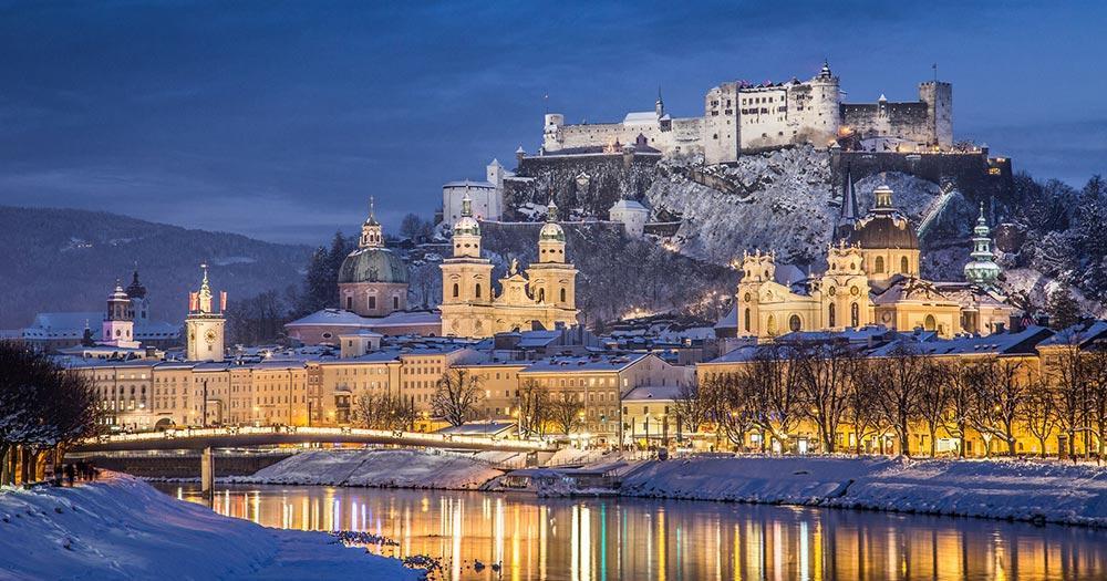 Salzburger Christkindlmarkt - Weihnachtliche Stimmung in Salzburg