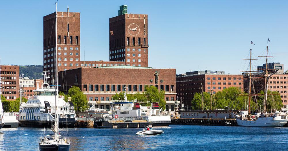 Oslo - Das Rathaus von Oslo