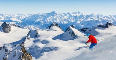 Chamonix-Mont-Blanc - Tolles Schneebedingungen