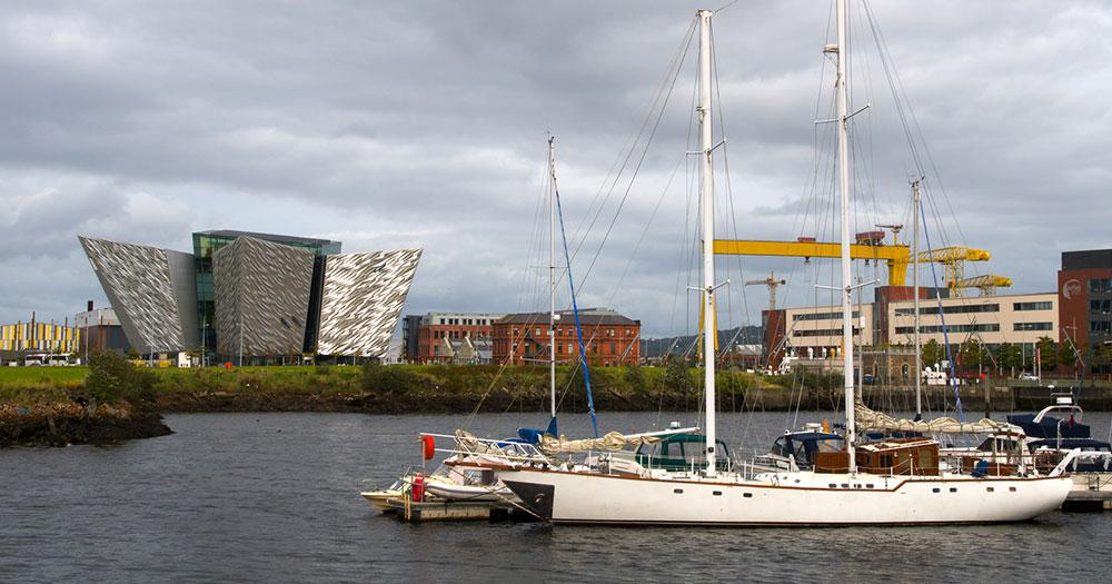 Belfast - Schifffahrtsmuseum Titanic Belfast