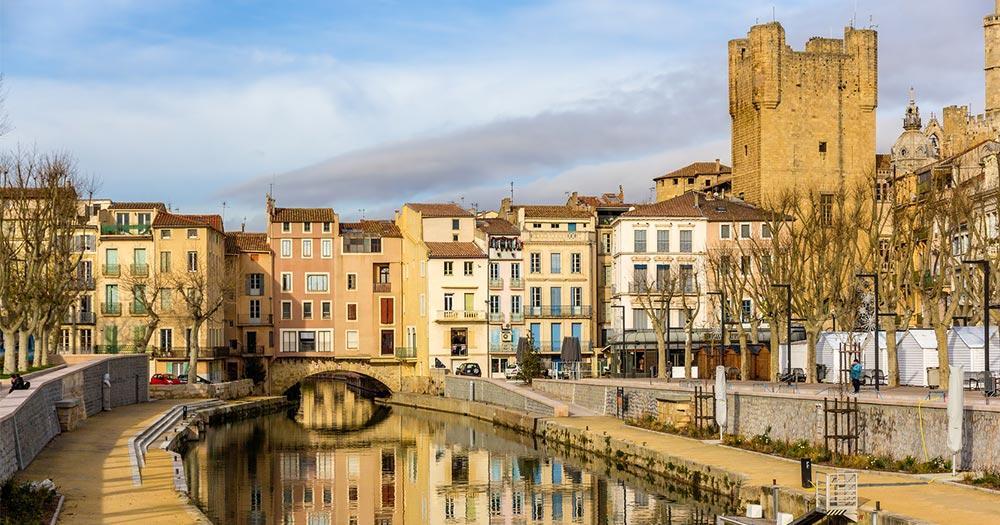 Languedoc-Roussillon -  Canal de la Robine in Narbonne