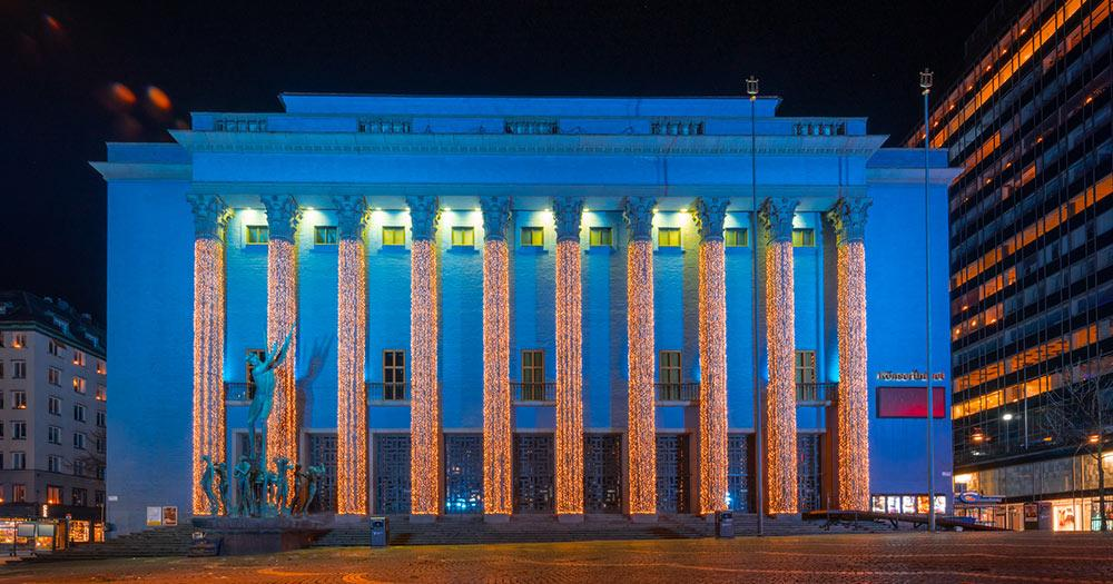 Stockholm - die Konzerthalle von Stockholm