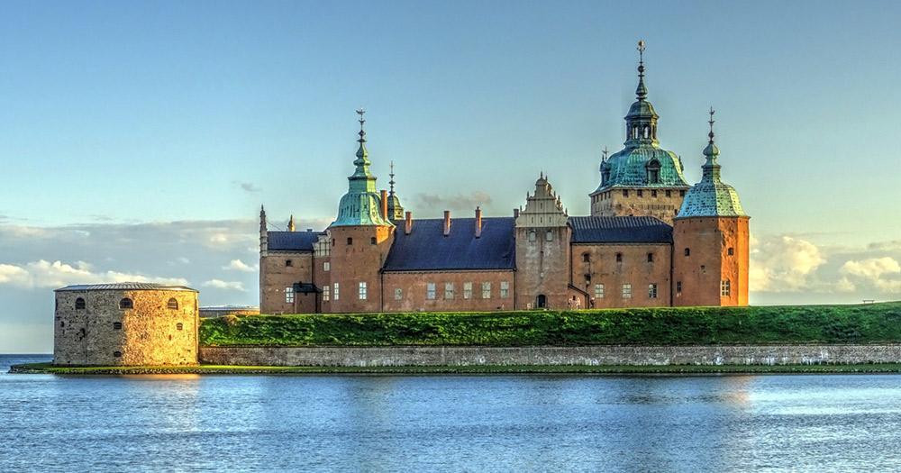 Stockholm - die Seefestung Kalmar
