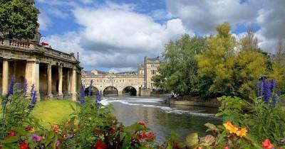 Bath - Blick auf Somerset