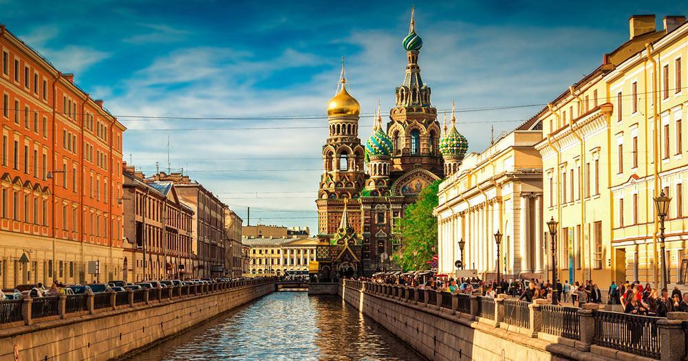 Sankt Petersburg - Die Blutskirche