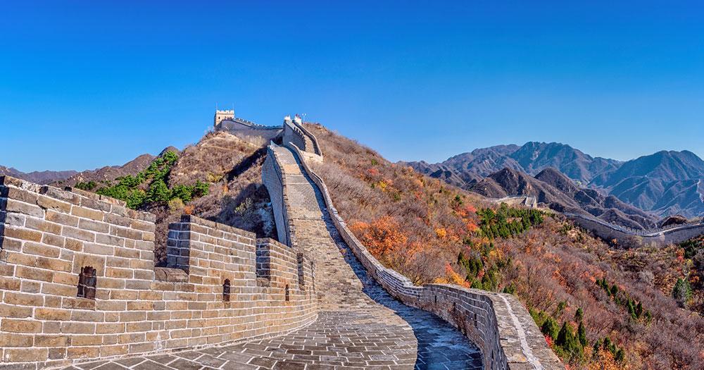 Peking - Die chinesische Mauer