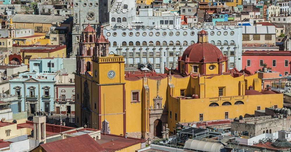 Guanajuato - Blick auf die Basilika