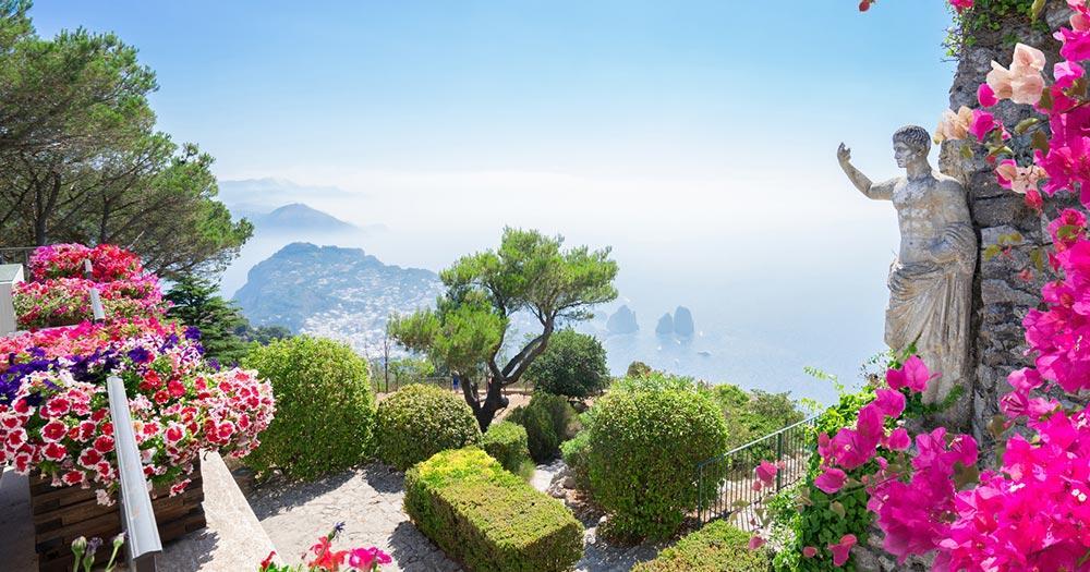 Capri - Blick vom Monte Solaro