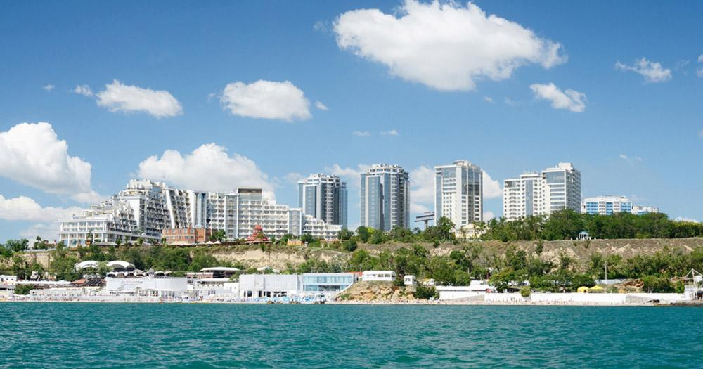 Odessa - Blick vom Meer