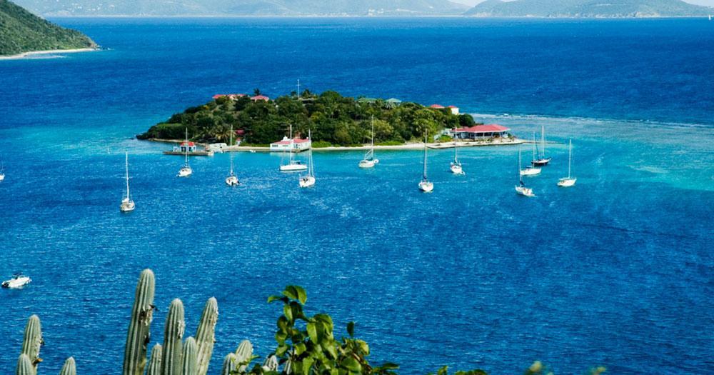 Britische Jungferninseln -  Marina Cay