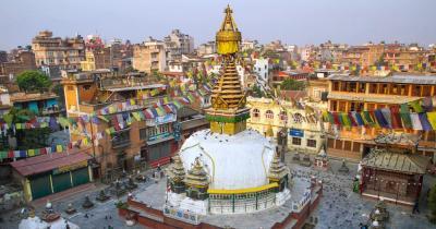 Kathmandu - Kathesimbu Stupa