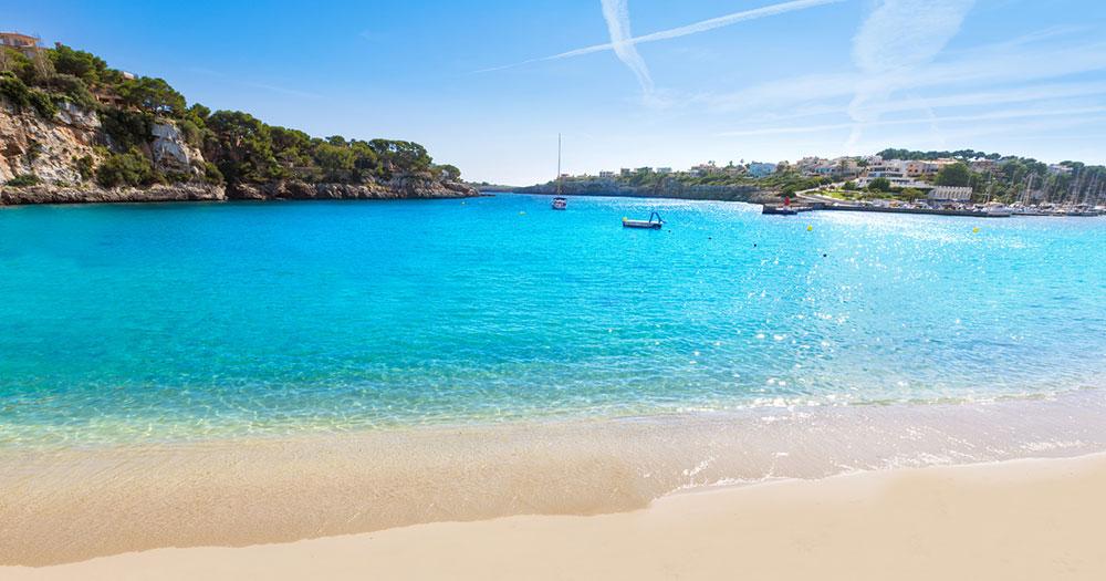 Mallorca - Blick auf den Strand