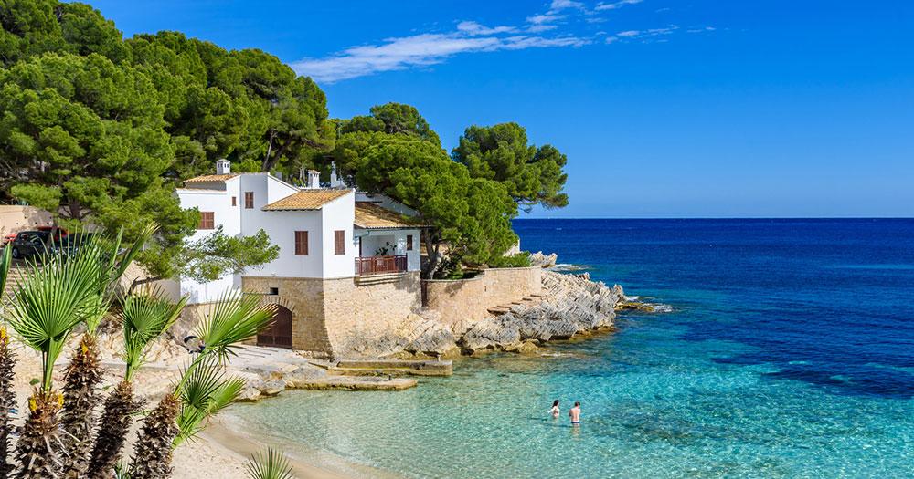 Mallorca - Haus direkt am Strand