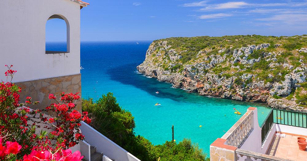 Mallorca - Ausblick auf wunderschöne Bucht