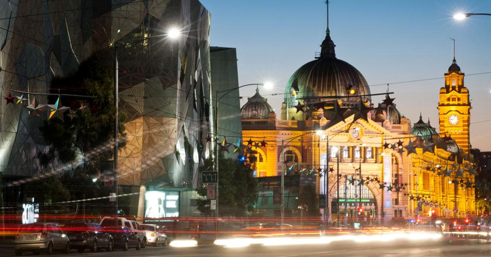 Melbourne - Flinders station