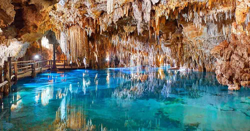 Tulum - Höhle