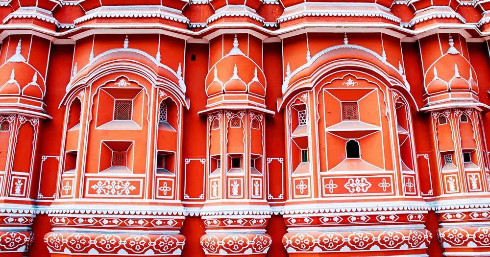 Jaipur - Hava Mahal Palast