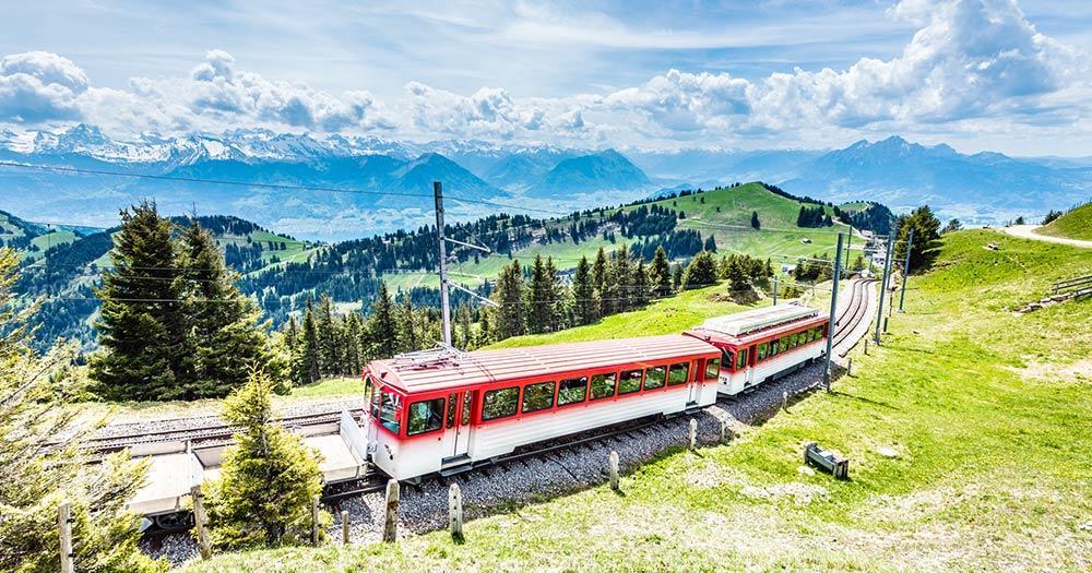 Luzern - Rigi Bahn, Vierwaldstättersee