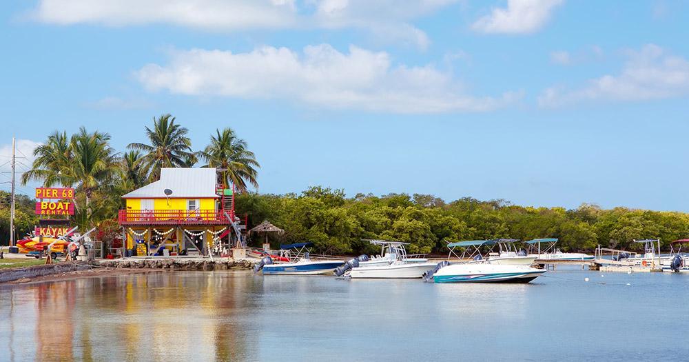 Key West - Key Largo Hafen