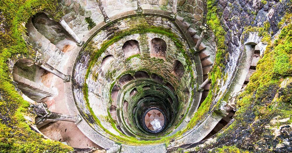 Sintra - geheimnisvolle Gebäude