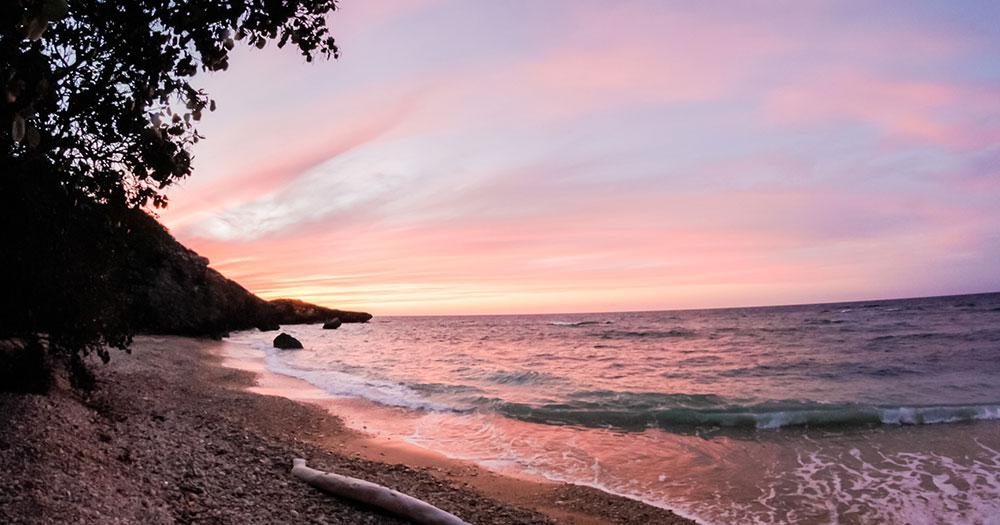 Puerto Plata - Sonnenuntergang am Meer