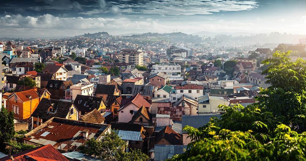 Antananarivo - Blick auf die Stadt