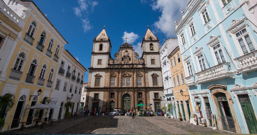 Salvador - Kirche von São Francisco