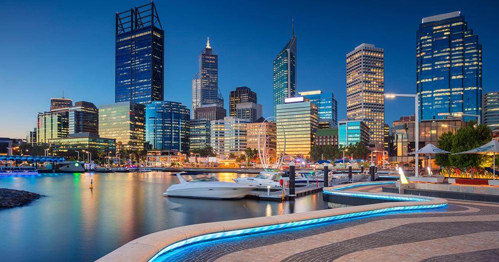 Perth - City Skyline