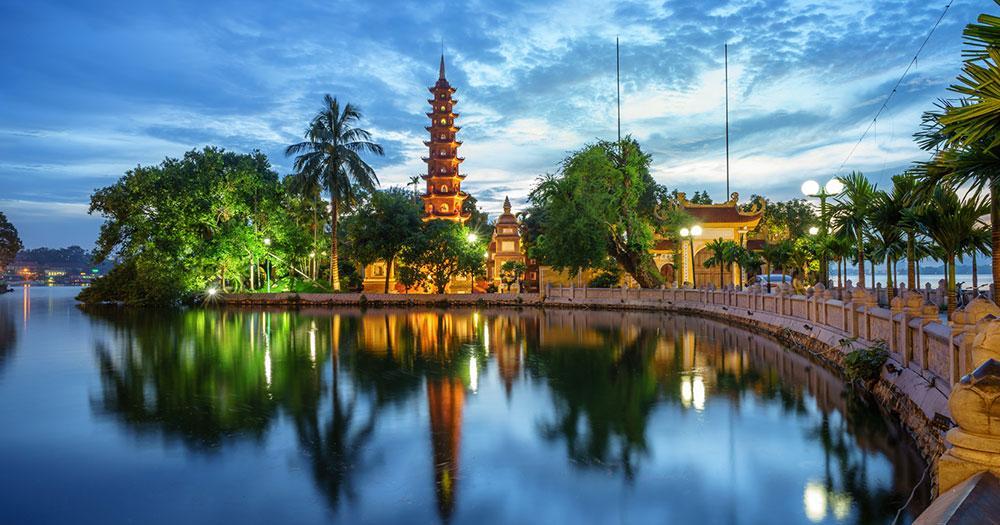 Hanoi - Tran Quoc Pagode