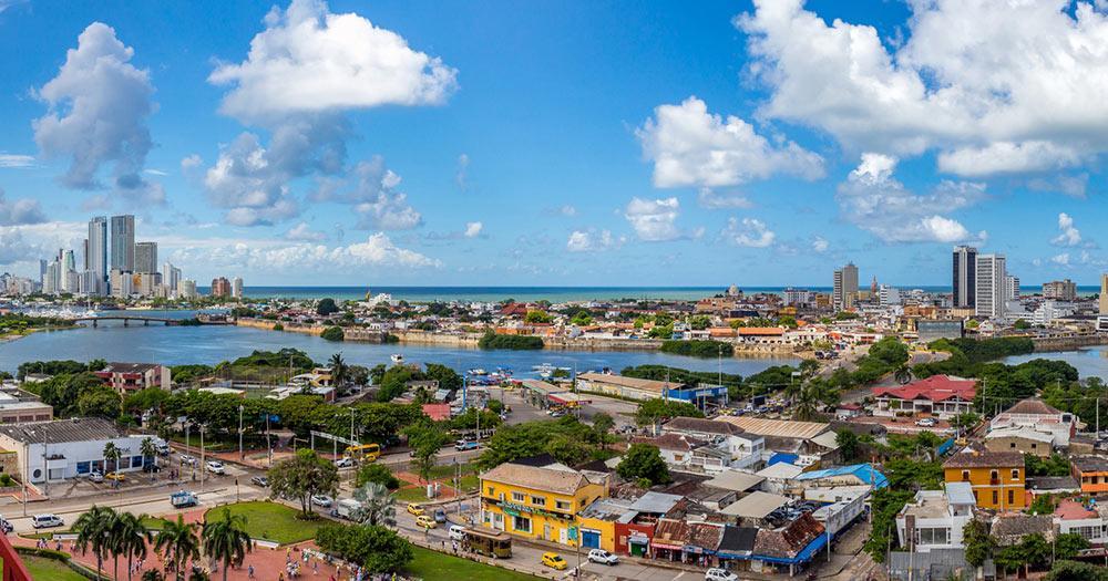 Cartagena - Blick auf die Stadt
