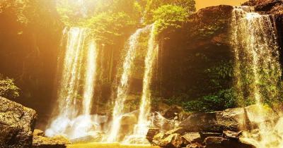 Seam Reap -  Phnom Kulen Wasserfälle