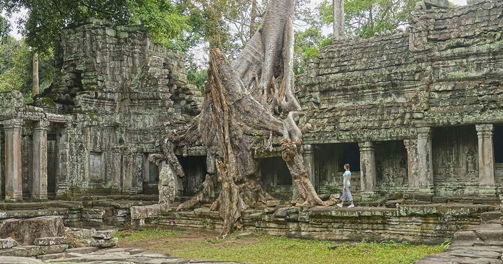Seam Reap - alte Tempelanlagen