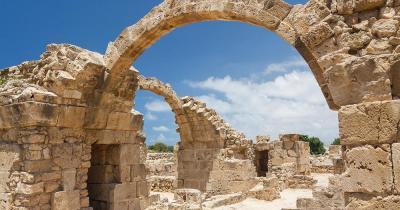 Saranda - Ruinen eines byzantinisches Kastells