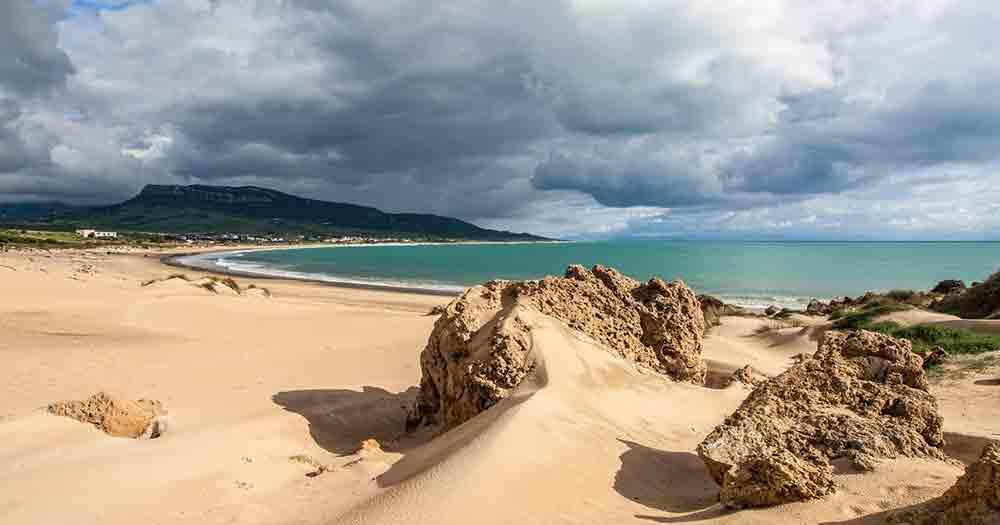 Costa de la Luz - Steine am Strand