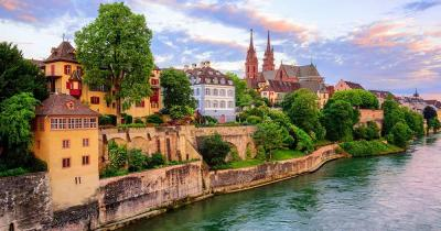 Basel - Altstadt am Rhein