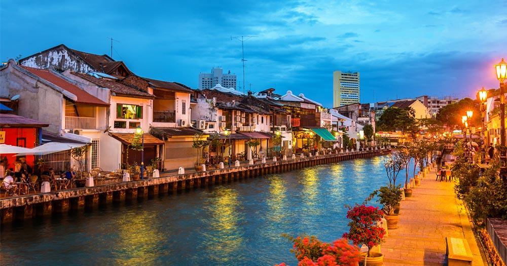 Malakka - die Altstadt