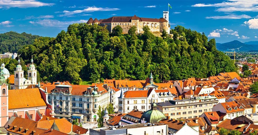 Ljubljana - Panoramablick