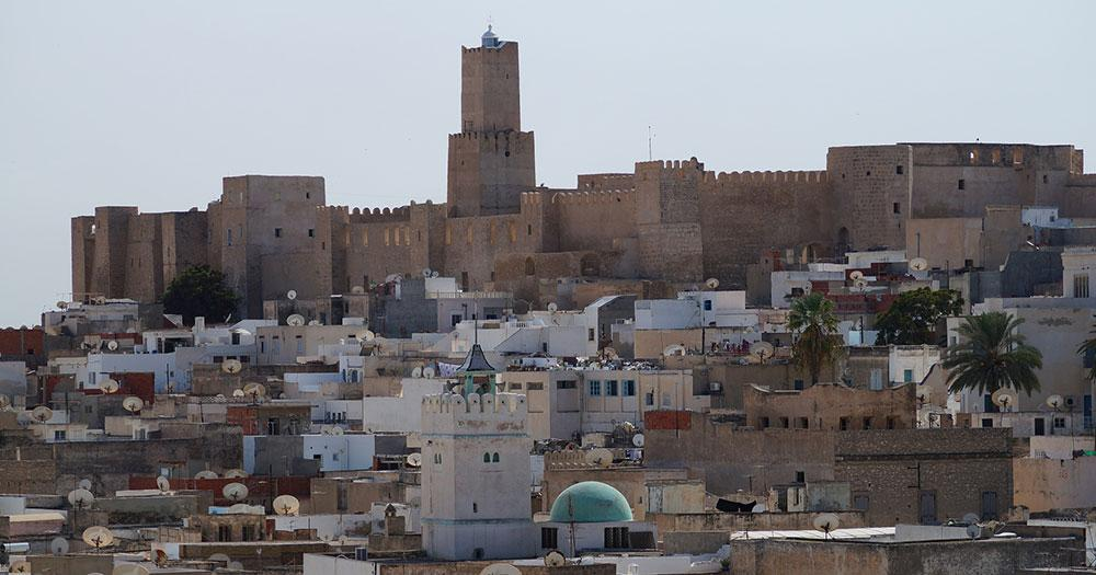 Sousse - Blick auf die Altstadt