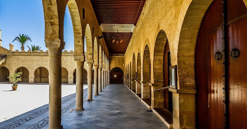 Sousse - Innenhof der großen Moschee