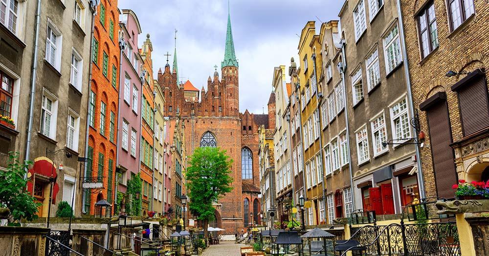 Danzig - Gothische Häuser