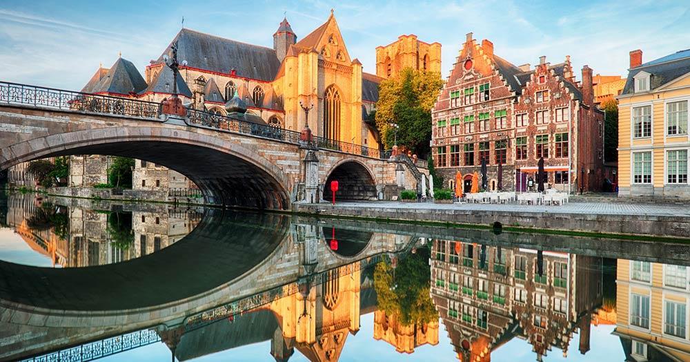 Gent - mittelalterliche Kathedrale