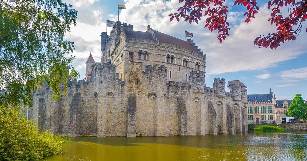 Gent - Gravensteen Burg
