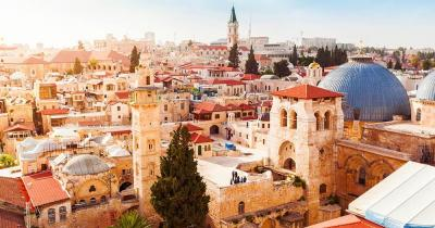 Jerusalem - Blick auf die Altstadt