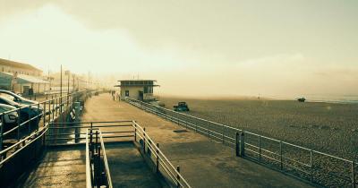Bondi Beach - im Morgennebel