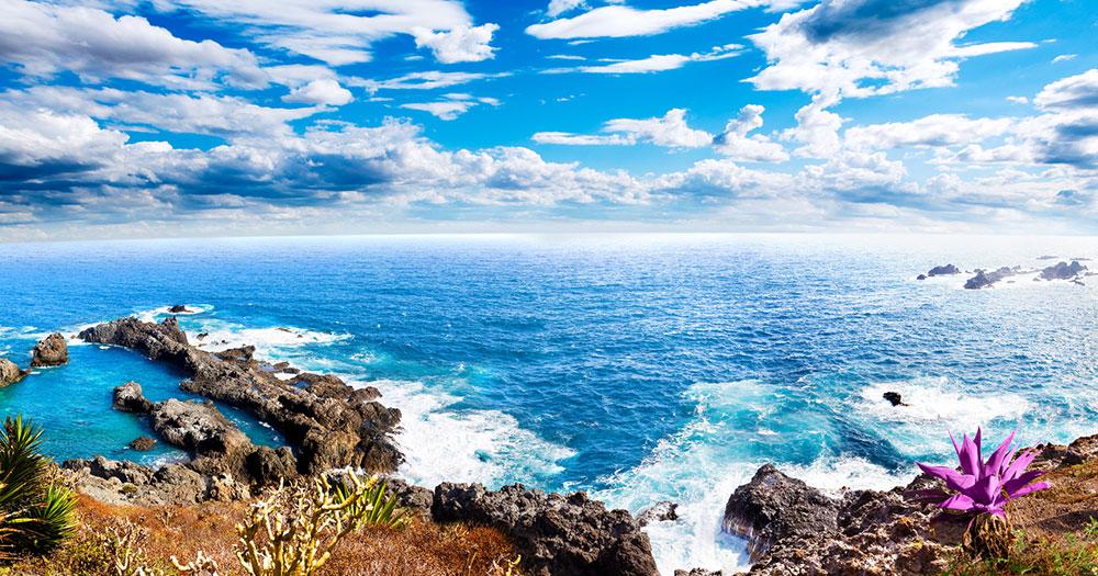 Teneriffa - Blick auf das Meer