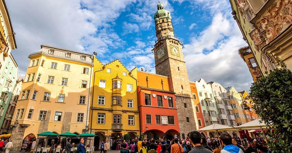 Innsbruck - das Zentrum der Altstadt