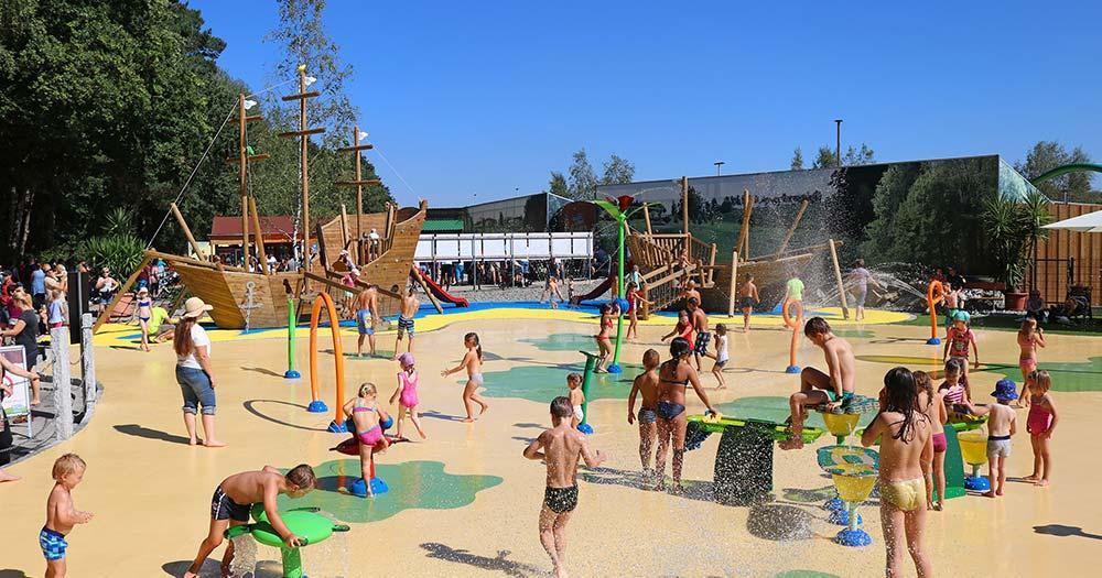 Bayern-Park - Wasserspielplatz
