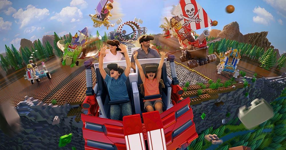 Legoland - Rollercoaster